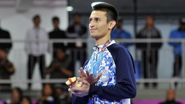 Lucas Guzmán ganó la medalla de bronce en el último Mundial de Manchester 2019.