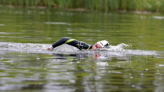 Biagioli, de 32 años, en su primera participación olímpica y con una fractura de costilla a cuestas.