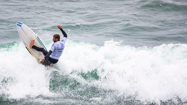 El marplatense hace historia en Tokio donde se estrena el surf como disciplina olímpica.