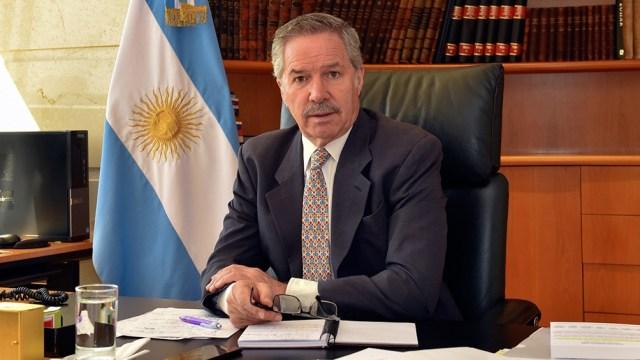 El encuentro tuvo lugar en el Ministerio de Relaciones Exteriores.
