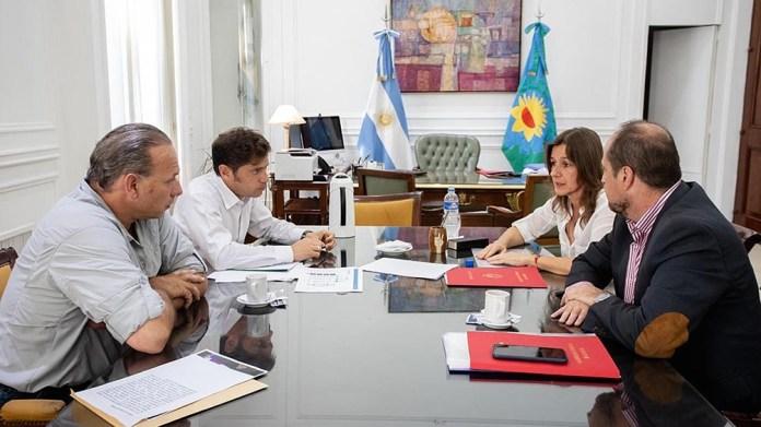 Frederic y Berni coincidieron en que se saldaron las diferencias en materia de seguridad, Periódico San Juan