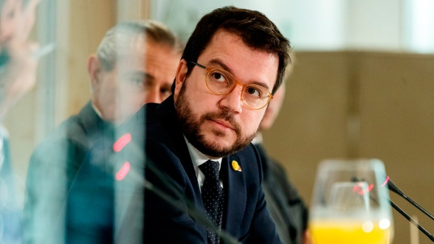 Pere Aragonés, actual presidente de Cataluña. Es un independentista moderado