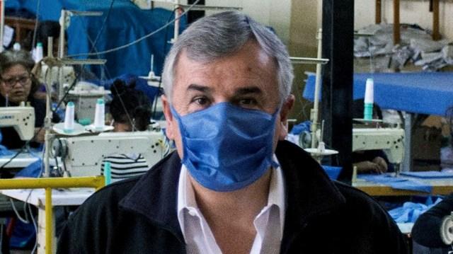 El gobernador Gerardo Morales no descarta un toque de queda sanitario en Jujuy.