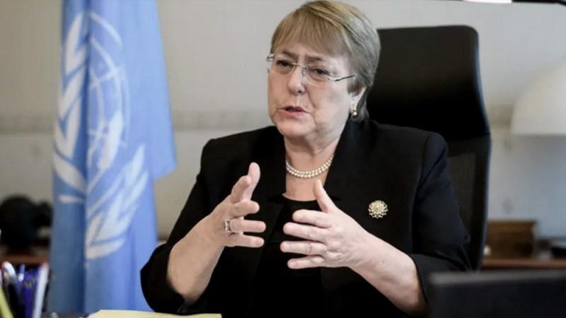 Bachelet pidió por el fin de la persecución a políticos opositores y por la libertad de prensa