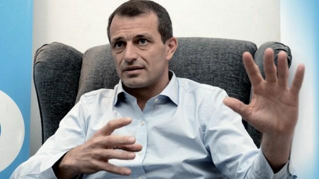 Bucca fue recibido hoy por el Presidente en Olivos.