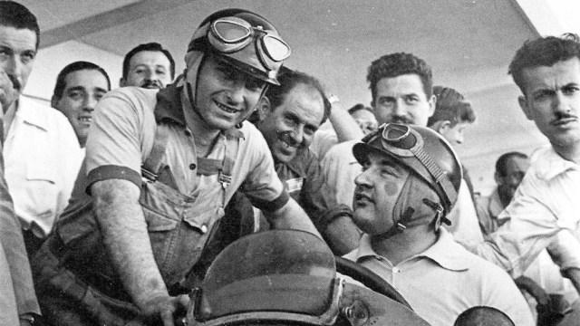 El piloto argentino se retiró de la Fórmula 1 en 1958 cuando era parte del equipo Maserati