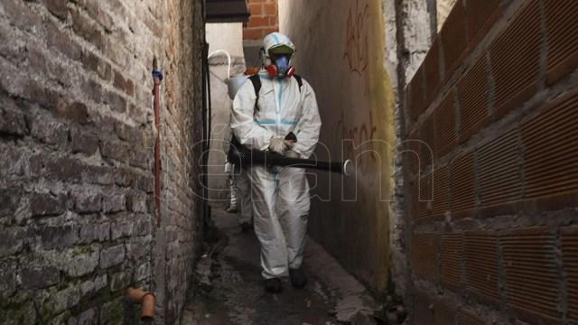 En los barrios populares porteños, ayer fueron notificados 57 nuevos casos