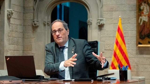 """Torra llama a una """"ruptura democrática"""" con España"""