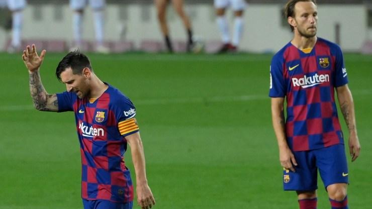 Messi se ubicó en la quinta colocación del premio al goleador de las competencias europeas
