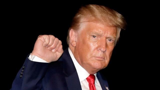 """Trump definió a Kamala Harris como """"la más mala, la más horrible, la más irrespetuosa de todos en el Senado""""."""