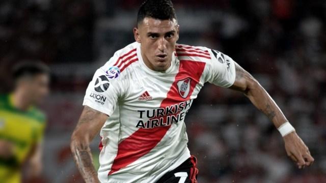 Matías Suárez se recuperó de una sinovitis en la rodilla derecha.
