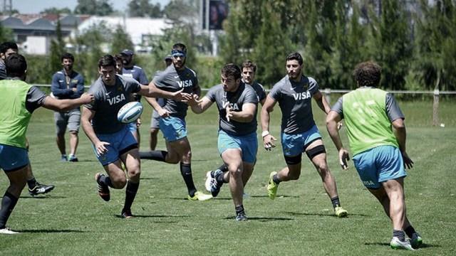 Los Pumas buscan su puesta a punto para el Rugby Championship (foto archivo)