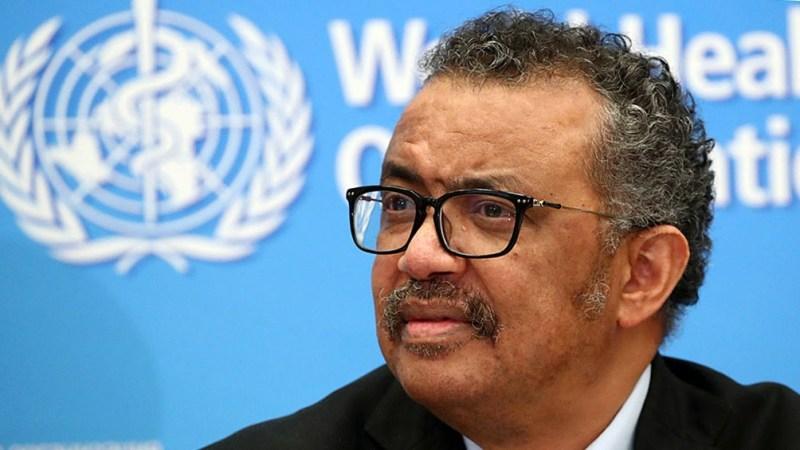Adhanom Ghebreyesus, director general de la Organización Mundial de la Salud (OMS).