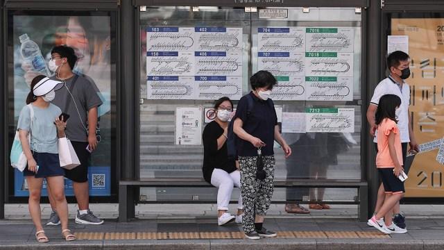 La mayoría de los nuevos casos en Corea del Sur, se encuentran en el área metropolitana de Seúl,