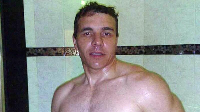 Rubén Dening, amigo de la víctima, a quien conocía de adolescente.