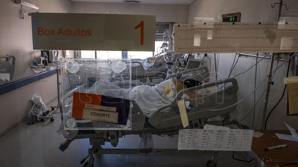 La ocupación de las unidades de terapia intensiva es del 61,9% a nivel nacional.
