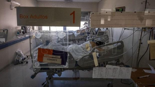 Son 3.471 los internados en unidades de terapia intensiva, con un porcentaje de ocupación de camas de adultos de 54,6% en el país y del 58,8% en la Área Metropolitana Buenos Aires.