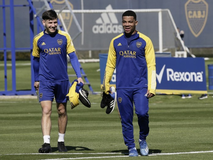 Una de las dudas es si Agustín Sandez vuelve como titularo si nuevamente será de la partida el colombiano Frank Fabra.