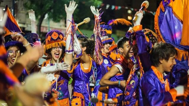 El carnaval, uno de los festejos históricos y populares de la ciudad.