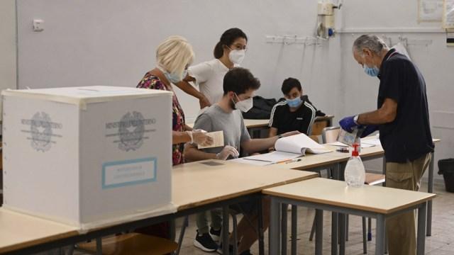 Las elecciones estuvieron marcadas por la batería de medidas para evitar el contagio de coronavirus