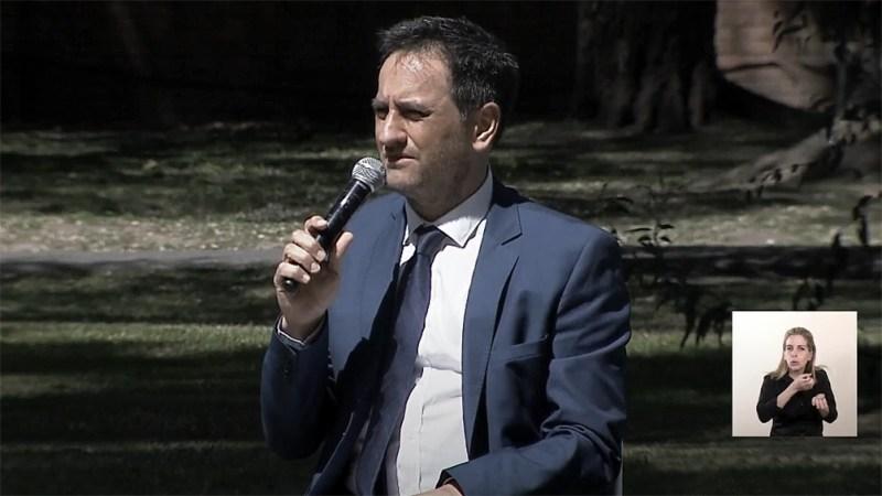 Juan Cabandié, ministro de Ambiente y Desarrollo Sustentable.