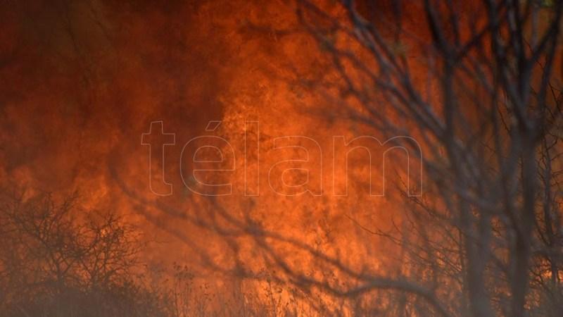Corte de rutas por el humo reinante y la escasa visibilidad que esto provoca