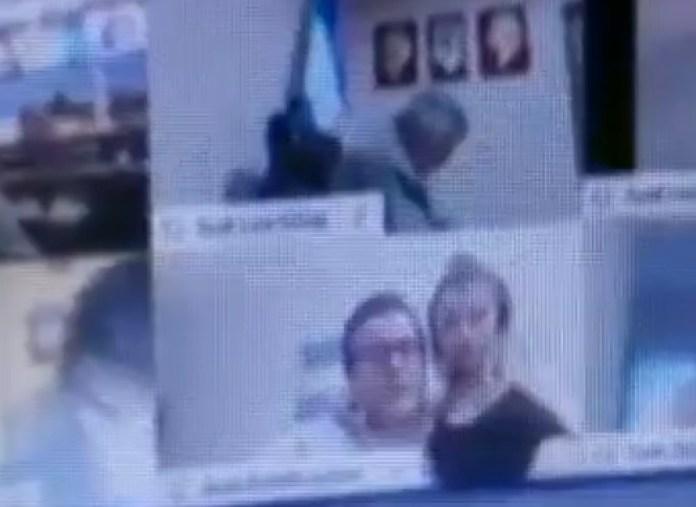 Imagen de la sesión virtual