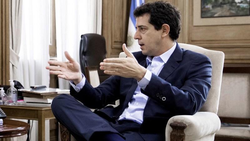 """Eduardo """"Wado"""" de Pedro buscará consensos con los legisladores oficialistas y opositores."""