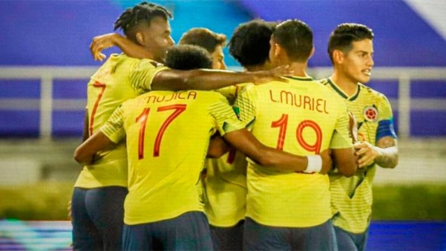 Venezuela cayó frente a Colombia en la primera fecha de las eliminatorias.