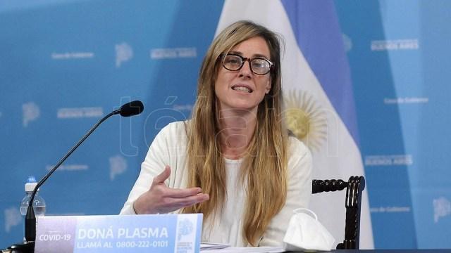 Directora general de Cultura y Educación bonaerense, Agustina Vila.
