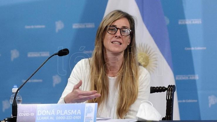 Agustina Vila firmó la resolución que regula las medidas de prevención.