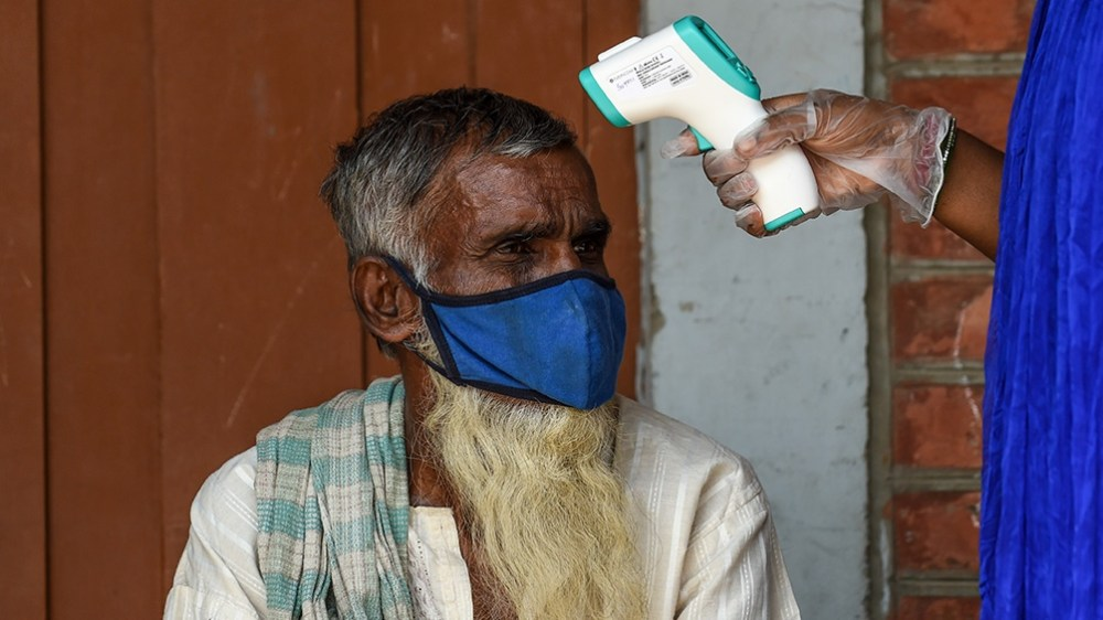 India tiene una cantidad de contagios de 8,6 millones.