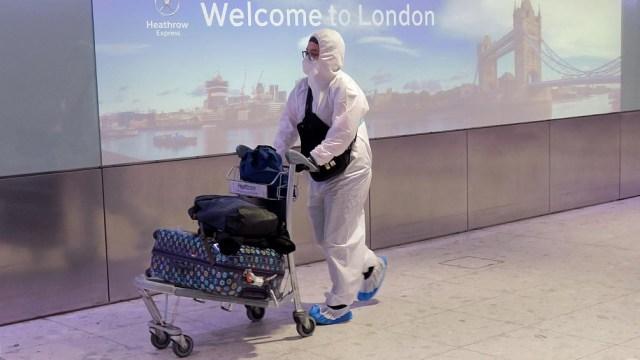 El ministro aseguró que hay indicios de que los casos de coronavirus comienzan a disminuir en el Reino Unido.