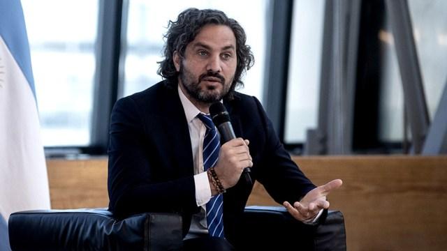 """Para Cafiero, el envío de la iniciativa al Parlamento busca """"seguir promoviendo el diálogo político""""."""