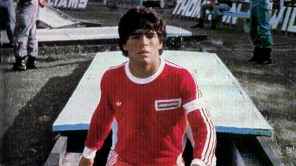 Argentino Juniors, su primer gran amor.