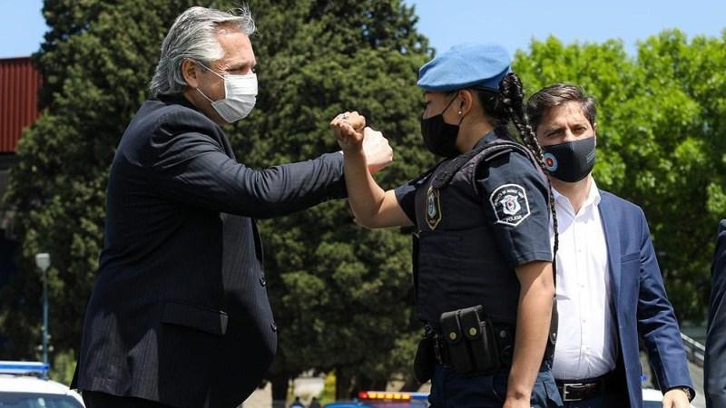 """Alberto Fernández: """"Cuando invertimos en seguridad, en verdad estamos invirtiendo en los que menos tienen"""""""