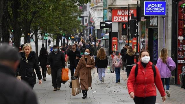 Reino Unido, uno de los países de Europa más afectado por la pandemia, superó los dos millones de infectados y más de 67.000 muertos a raíz de la enfermedad.
