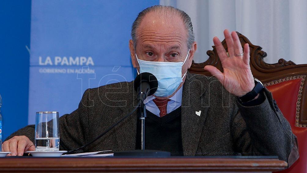 Mario Kohan es el ministro de Salud de La Pampa, uno de los que espera con ansiedad la vacuna.