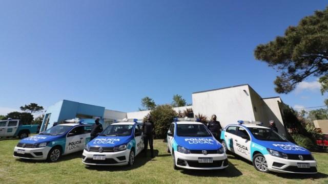 Berni entregó patrulleros y se reunió con intendentes por el Operativo Sol