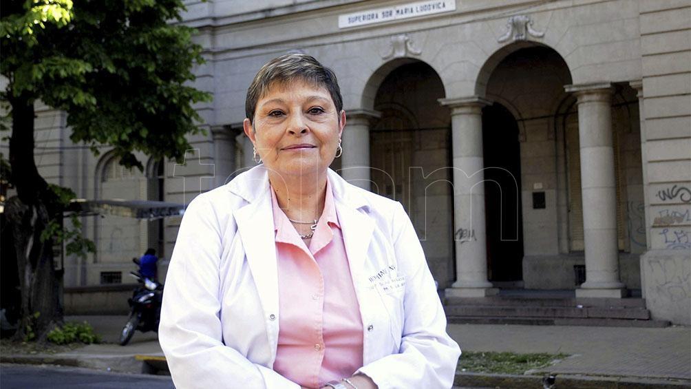 Adriana Aguirre Celiz, la jefa del Servicio de Toxicología del Hospital de Niños Sor María Ludovica de La Plata