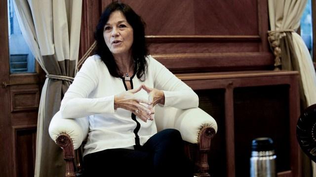 """Vilma Ibarra: """"No pudimos llegar a un acuerdo y para nosotros fue un tema; no hubiese querido que fuera así, pero dejamos las puertas abiertas para seguir negociando en el futuro"""""""