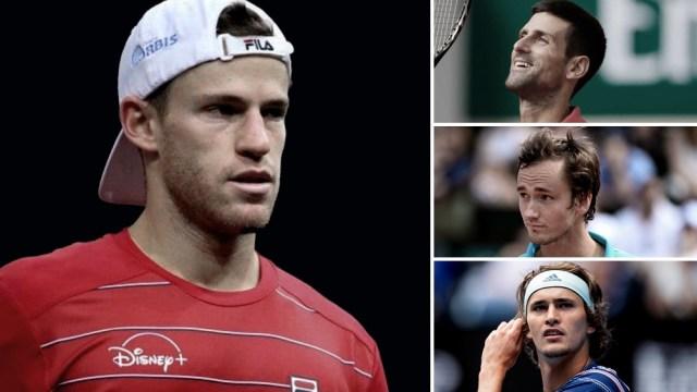 """El """"Peque"""" debutará ante Novak Djokovic, el lunes cerca del mediodía"""