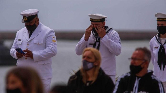 Emotivo homenaje en la base de Mar del Plata.