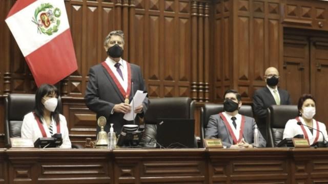 Presidente interino de Perú, Francisco Sagasti