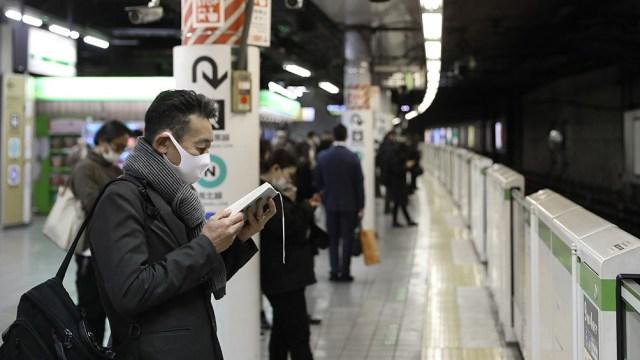 """La asociación médica de Japón advirtió que """"el sistema sanitario corría el riesgo de derrumbarse en todo el país""""."""
