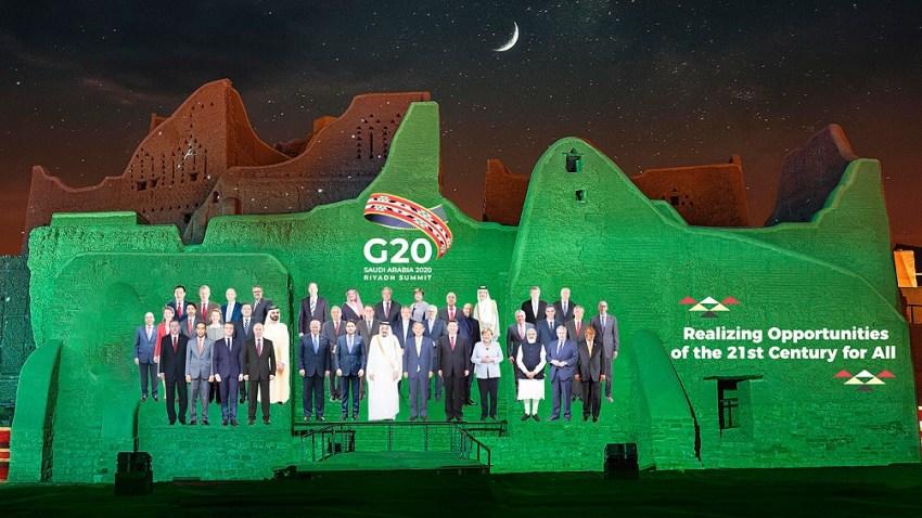 Este año el G20 está encabezado por Arabia Saudita, que asumió la presidencia en diciembre de 2019.