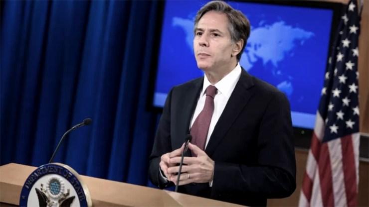 """""""La ayuda exterior al pueblo palestino sirve a importantes intereses y valores estadounidenses"""", dijo Blinken"""