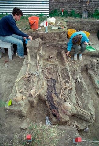 El equipo halló restos en los cementerios de Avellaneda, Lomas de Zamora, La Plata y La Matanza.