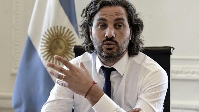 """Cafiero: """"Nosotros trabajamos para cuidar a los argentinos""""."""