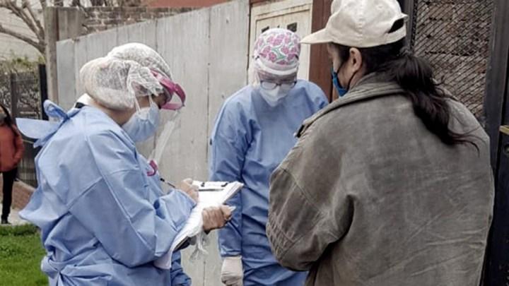 """En AMBA subieron los pacientes de terapia de 437 a 610 y ahora se está aquietando en 590"""", apuntó Gollán."""